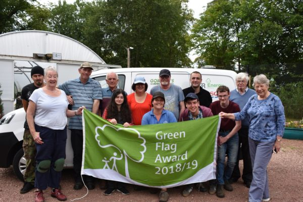 Castlebank Park Green Flag small